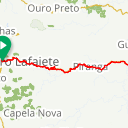 Map image of a Route from January 23, 2018