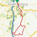 Map image of a Route from January 30, 2018