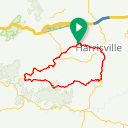 Map image of a Route from February  1, 2018