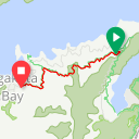 Map image of a Route from February  5, 2018