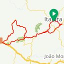 Map image of a Route from February  4, 2018
