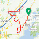 Map image of a Route from February  7, 2018