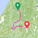 Map image of a Route from February  9, 2018