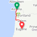 Map image of a Route from February 12, 2018