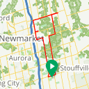 Map image of a Route from February 15, 2018