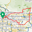 Map image of a Route from February 17, 2018