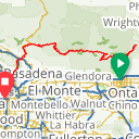 Map image of a Route from February 18, 2018