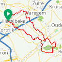 Map image of a Route from February 21, 2018