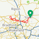Map image of a Route from March  5, 2018