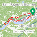 Map image of a Route from March  8, 2018