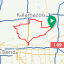 Map image of a Route from March 20, 2018