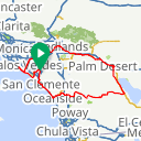 Map image of a Route from March 21, 2018