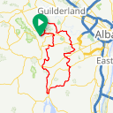 Map image of a Route from March 22, 2018