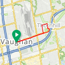 Map image of a Route from March 25, 2018