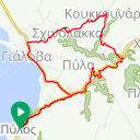 Map image of a Route from March 31, 2018