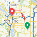 Map image of a Route from April  3, 2018