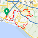 Map image of a Route from April  6, 2018