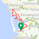 Map image of a Route from April  7, 2018