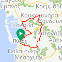 Map image of a Route from April  8, 2018