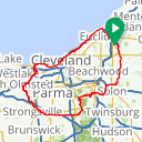 Map image of a Route from April 11, 2018
