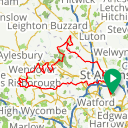 Map image of a Route from April 12, 2018