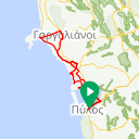 Map image of a Route from April 13, 2018