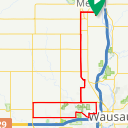Map image of a Route from April 23, 2018