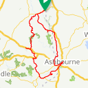 Map image of a Route from April 25, 2018