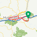 Map image of a Route from April 26, 2018