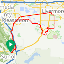 Map image of a Route from April 27, 2018