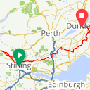 Map image of a Route from April 30, 2018