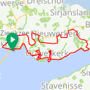 Map image of a Route from May  2, 2018