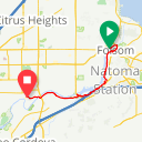 Map image of a Route from May  6, 2018