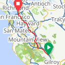 Map image of a Route from May  9, 2018