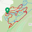 Map image of a Route from May 10, 2018