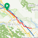 Map image of a Route from May 12, 2018