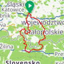 Map image of a Route from May 13, 2018