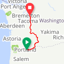 Map image of a Route from June 25, 2013