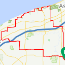 Map image of a Route from May 17, 2018