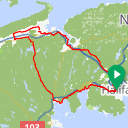 Map image of a Route from May 19, 2018