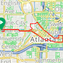 Map image of a Route from May 20, 2018