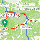 Map image of a Route from May 27, 2018