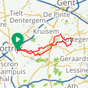 Map image of a Route from May 28, 2018