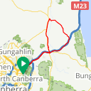 Map image of a Route from May 30, 2018