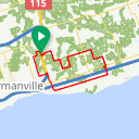 Map image of a Route from June  6, 2018