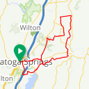 Map image of a Route from June  9, 2018