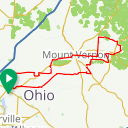 Map image of a Route from June 29, 2013