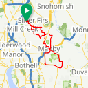 Map image of a Route from June 10, 2018