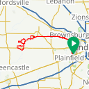 Map image of a Route from June 11, 2018