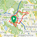 Map image of a Route from June 13, 2018